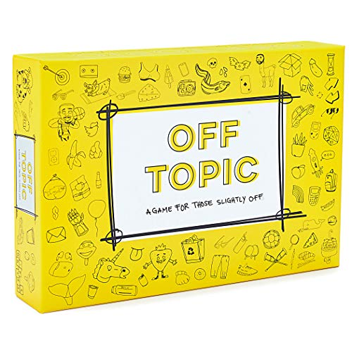Off Topic Party Game for Adults - Fun...