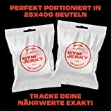 Gym Jerky Beef African Chili 1kg – 25x40g High Protein – Low Fat & Low Carb – Deutsches Premium-Rindfleisch Made in Germany - 6