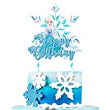 1 Cake Decorations for Frozen Cake Toppers Ice