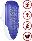 YUNLIGHTS Bug Zapper Light, Mosquito Killer for Indoor Use,Fly Killer for Bedroom and Kitchen, 4W Plug-in Portable Fly Trap
