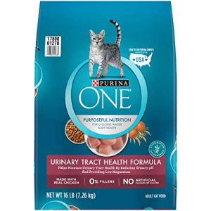Purina ONE Urinary Tract Health High Protein, Natural Adult Dry Cat Food & Wet Cat Food