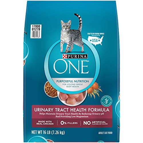 Purina ONE High Protein Dry Cat Food, Urinary Tract Health Formula - 16 lb. Bag