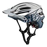 Troy Lee Designs Adult | Trail | Enduro | Half Shell A2 Decoy Mountain Biking Helmet with MIPS (X-Large/XX-Large, Air Force Blue/Silver)