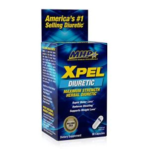 MHP Xpel Maximum Strength Diuretic Water Pills, for Water Retention Relief, Weight loss Support, with Vitamin B-6 Potassium Dandelion Root, 80 Capsules 1 - My Weight Loss Today