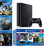 2019 Playstation 4 PS4 Slim 1TB Console + Playstation VR Headset + Playstation Camera + 8 Games...