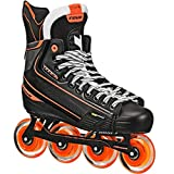 TOUR Code 2 Senior Inline Hockey Skates Black Size: 5 Black