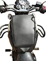 Vehicle compatibility: Royal enfield bullet classic 350, 500 all models Material: Leatherette Tank cover with royal enfield logo Water resistant material tank cover with foam added