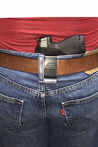 Pro-Tech Outdoors Concealed in The Pants/Waistband Holster Fits Glock 17,19,20,21,22,23,25,26,27,28,29,30,31,32,33,36,38,39,40,41,42,43