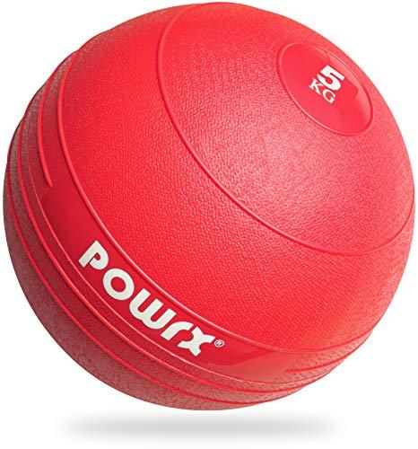 POWRX - Slam Ball Balón Medicinal 3-20 kg - Ideal para Ejercicios de...