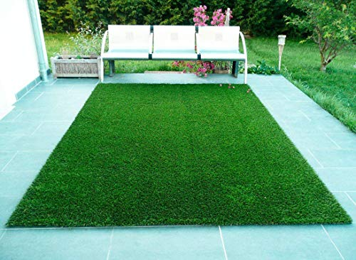 FRESH FROM LOOM 35 MM Artificial Grass Mat Carpet for Balcony - for Home Decoration - Floor Mat for...