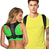 Posture Corrector for Women Men, Back Brace, Comfortable Posture Trainer for Spinal Alignment and...
