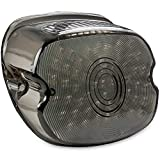 Krator Smoke Integrated LED Taillight w/Turn Signals for 2019 Harley Davidson Low Rider - FXLR