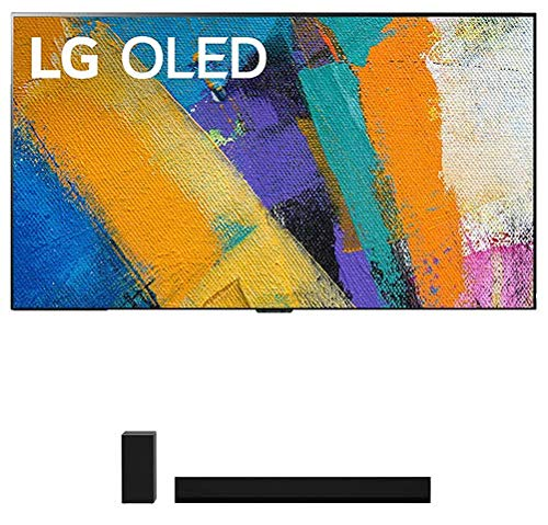"""LG OLED77GXP 77"""" 4K Ultra High Definition OLED Smart Gallery TV with a LG GX 3.1 Channel High Res Audio Dolby Atmos Gallery Soundbar (2020)"""
