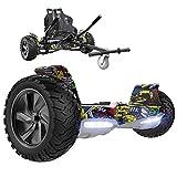 GeekMe Gyropode Auto-équilibré Scooter électrique 8,5 '' Tout Terrain...