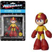 Mega man funko acción mega man atomic fire chase