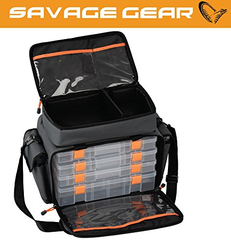 Borsa spinning Savage Gear 'LURE SPECIALIST BAG M' 30x40x22cm