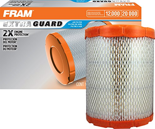 FRAM Extra Guard H.D. Air Filter, CA9345 for Select Buick, Chevrolet, GMC, Isuzu and Saab Vehicles