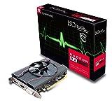 Sapphire Pulso AMD Radeon RX5504GB Memoria 128bits, GDDR5, Displayport/HDMI/DL-DVI-D PCI Express Tarjeta Gráfica,Negro