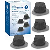 Dista Filter - Pack of 4 Dust Cup Filter Compatible with Shark Cordless Pet Perfect Lithium-Ion Handheld Vacuums Models LV800 LV801 LV801C. Compare to Part # XDCF800. Pack of 4