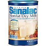 SANALAC Nonfat Dry Milk, 32 Ounce