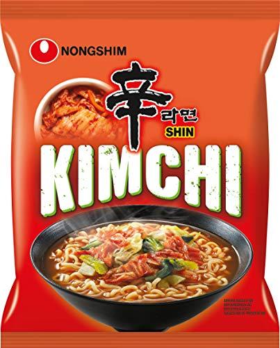 Nongshim kimchi ramyun - lamen vegetais picante - importado da coreia