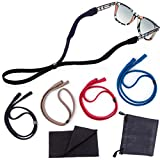 Sunglasses Straps 4 Pack Adjustable Universal Fit for Kids and Adults with Bonus Gifts