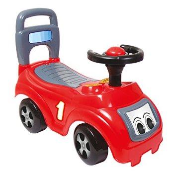 Charles Bentley Dolu Children's Sit-N-Ride Push Along Car Red