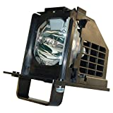 AuraBeam Economy 915B441001 / 915B441A01 for Mitsubishi WD-60738 Home-Cinema Projection Television Replacement Lamp Bulb with Housing/Enclosure/Cage