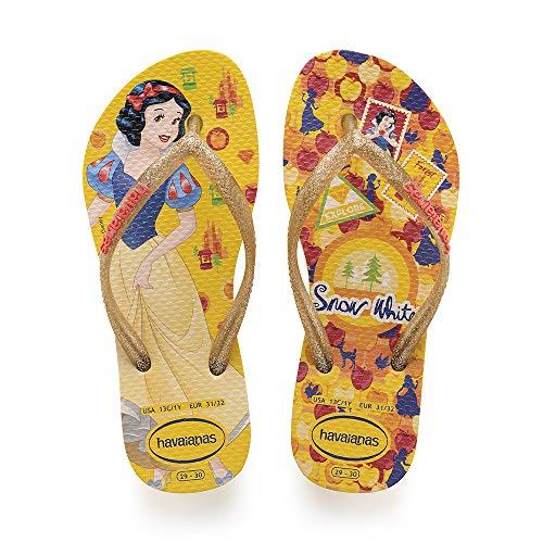 Havaianas Kids Slim Princess, Infradito Unisex Bambini, Multicolore (Banana Yellow 1652), 29/30 EU