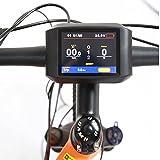 BAFANG C961 C965 850C DPC18 Ebike LCD Display BBS01 BBS02 BBSHD for Electric Bike Mid Drive Motor Conversion Kits (TFT-750C Display) (Misc.)