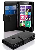 Cadorabo Coque pour Nokia Lumia 630/635 en Noir DE Jais - Housse Protection...