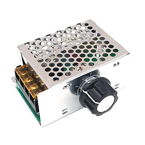 WINGONEER AC 220V 4000W alta potenza SCR elettronico di tensione governatore dimmer regolatore di velocit termostato