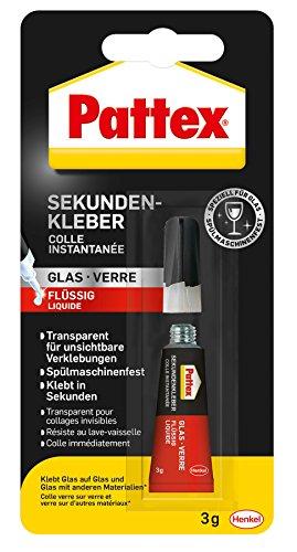 Pattex PSV1C Sekundenkleber Glas, 3 g
