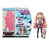 LOL Surprise OMG Winter Chill Big Wig Poupée Mannequin & Poupée Madame Queen avec 25 Surprises