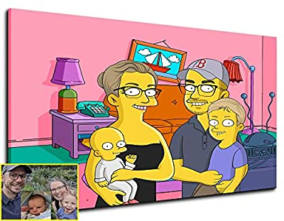 Have you thought about what you would look like if you were a Simpsons character? Now it's possible! Become a member of Simpsons cartoon through a unique portrait drawn by a professional artist. Exquisitely hand drawn and illustrated by our own talen...