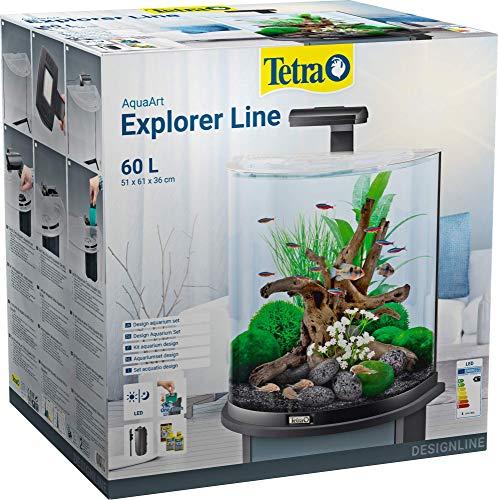 Tetra | AquaArt Explorer line | Aquarium 60L | Complete set | Modern ontwerp