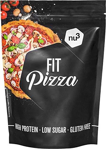 nu3 Fit Pizza baja en carbohidratos - 270 g de harina para p