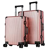 Ys-s Personalización de la tienda Esmerilado contraseña maleta estudiante coreano de gran capacidad varilla de volante universal de la maleta resistente al desgaste, la caja de embarque, antisísmica c