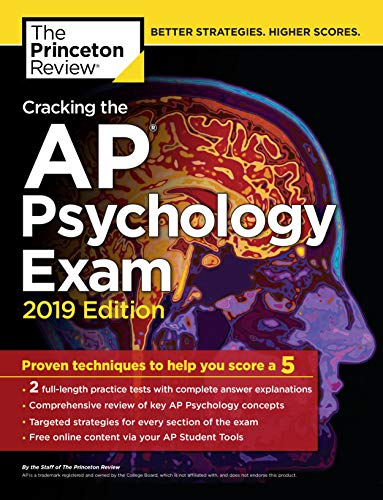 Cracking the AP Psychology Exam, 2019 Edition: Practice...