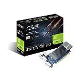 ASUS GT710-SL-2GD5 GeForce GT 710 2GB GDDR5 - Tarjeta grfica (GeForce GT 710, 2 GB, GDDR5, 64 bit, 2560 x 1600 Pixeles, PCI Express x16 2.0)