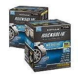 Rust-Oleum RockSolid Brilliant Blue Metallic Garage Floor Kit - 2 Pack