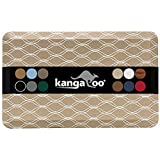 Kangaroo Original Standing Mat Kitchen Rug, Anti Fatigue Comfort Flooring Pads, Ergonomic Floor Pad for Office Stand Up Desk, 48x20, Waves, Beige White
