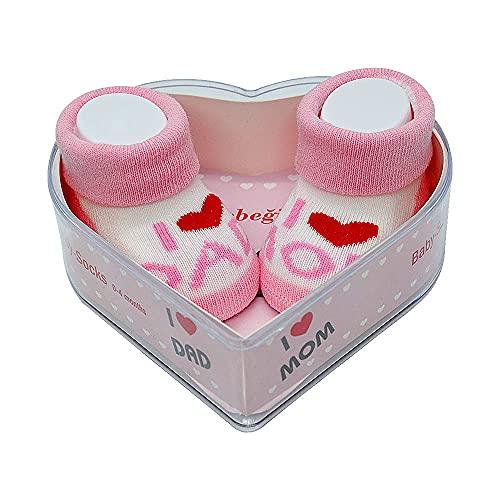 Calzini per neonati da 0 a 4 mesi, regalo perfetto per neonati e neonati, certificati Oeko-Tex