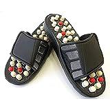 MECON SKY Acupressure Massage Slippers Leg Foot Massager Chappal (Multicolour)