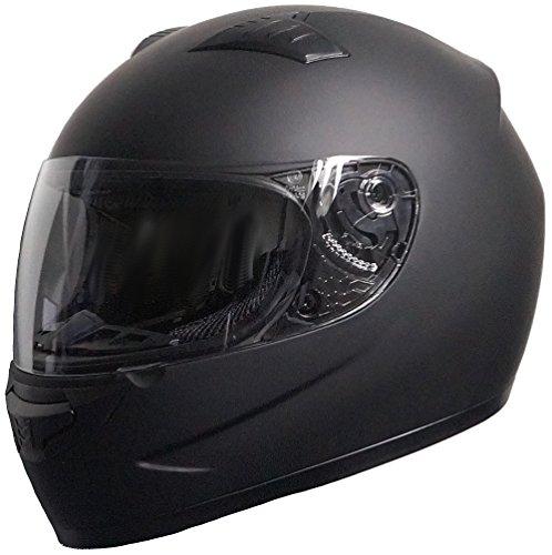 Integralhelm Motorradhelm Rallox 805 schwarz matt Göße M Helm Sturzhelm
