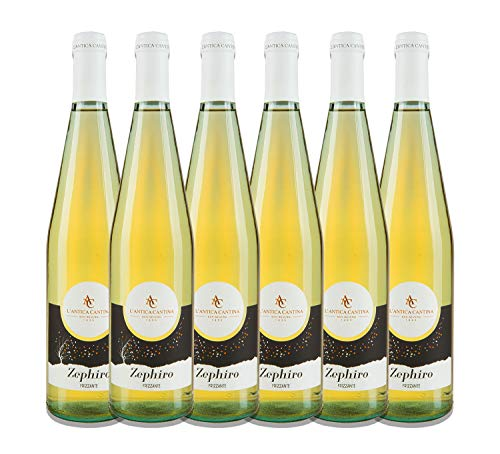 Zephiro'Bianco Frizzante' - Daunia IGP - 6 Bottiglie da 0,75 litri