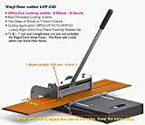 MantisTol 8 1/2' (218mm)Pro LVT/VCT/LVP/PVC/WPC/Rigid Core Vinyl Plank Cutter LVP-230 (Upgraded),Best buying!