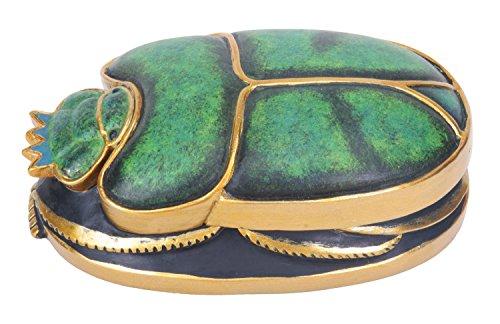 StealStreet - Figura Coleccionable de Escarabajo Verde y Dorado