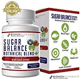 Blood Sugar & Immune Support Supplement with Zinc & Alpha Lipoic Acid, Cinnamon & Bitter Melon Plus Potent Medicinal Herbal Blend - 90 Capsules