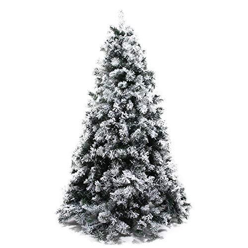 クリスマスツリー 雪が降る スノーツリー (180cm)